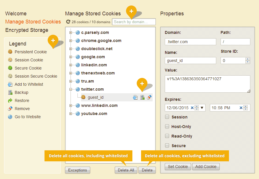 Cookie Manager