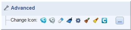 Eight icon set