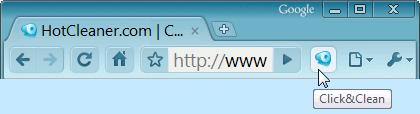Chrome Toolbar Button