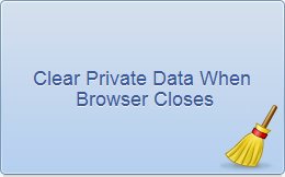 Clear Private Data when Chrome Closes