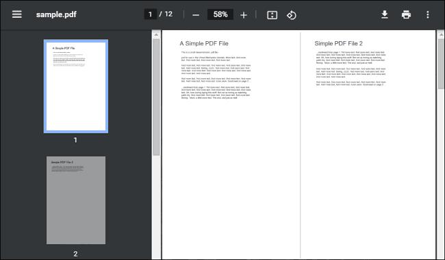 New PDF Viewer User Interface