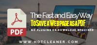 The Fast and Easy Way to Save Any Webpage as a PDF