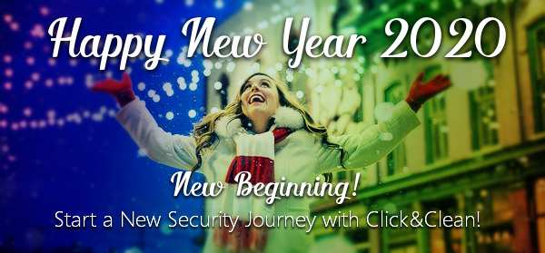 Start a New Security Journey with Click&Clean in 2020